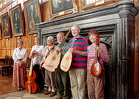 Lachrimae Consort at The Great Hall, Christ Church College, Oxford, UK